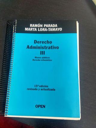libro administrativo IV derecho Uned