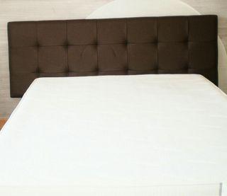 Cabecero piel para cama 1.50