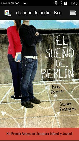el sueño de Berlín libro