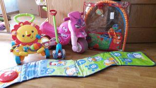 juguetes bebe variado (0-3 años)