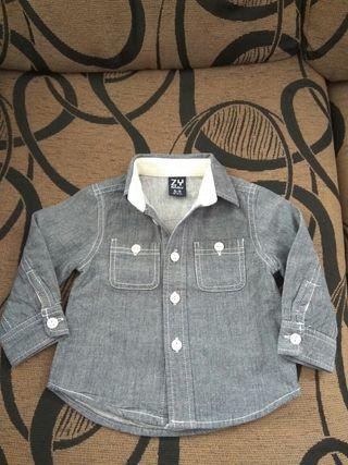 Camisa invierno bebé
