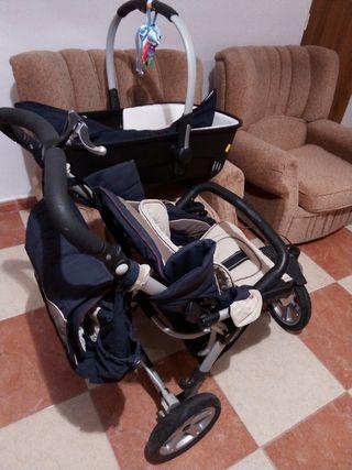 Carro bebé, con bolso y cuco