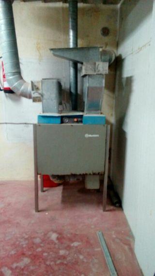 Extractor de humedad industrial
