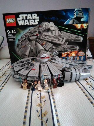Lego star wars Halcón milenario 7965