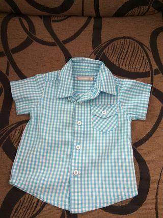 Pack camisa+camiseta bebé