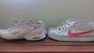zapatillas Nike y Reebok n° 36.5
