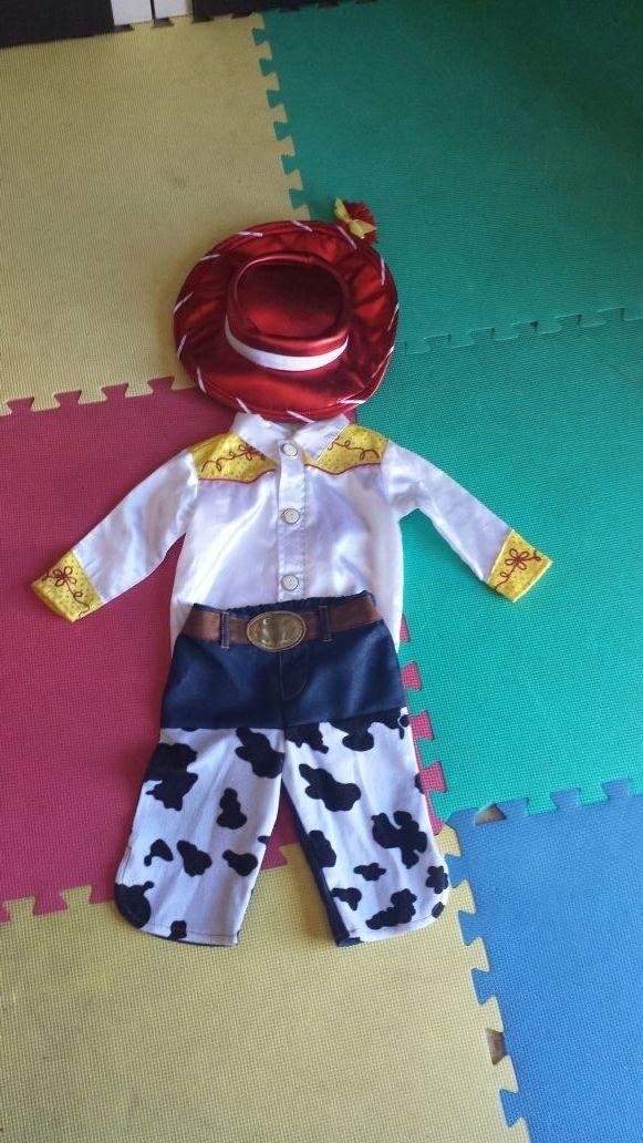 f1a3ecb7a04d9 Disfraz Jessie Toy Story de segunda mano por 12 € en Canals en WALLAPOP