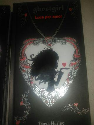 libros lote de dos de la colección ghostgirl Tony