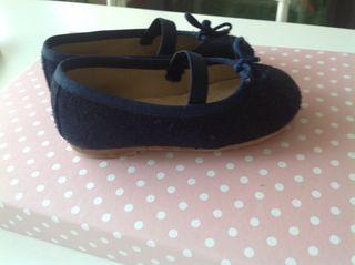 Zapato Niña azul marino 21-22