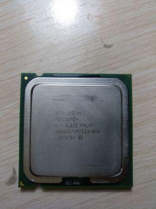CPU intel PENTIUM 4 524