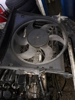 radiador y ventilador bmw
