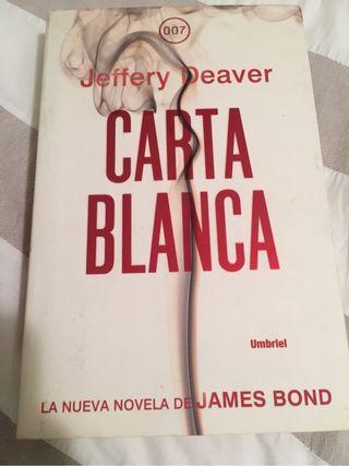 Libro Carta Blanca 007