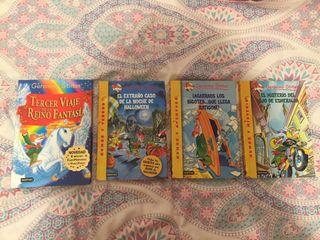 4 libros de Geronimo Stilton