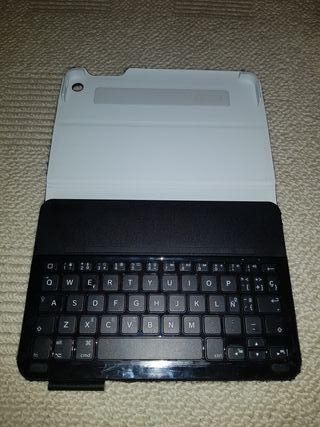 Funda Logitech IPAD Minicon teclado Bluetooth