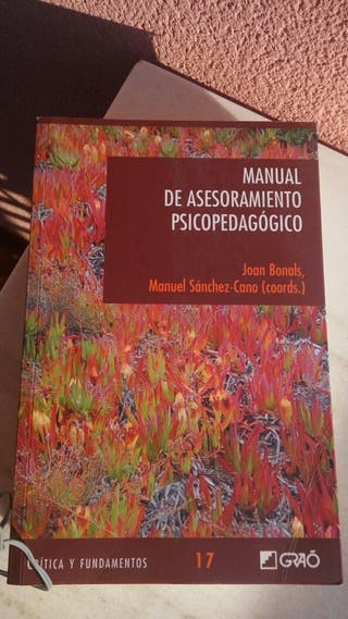 Manual asesoramiento psicopedagògico. Ed. Graó