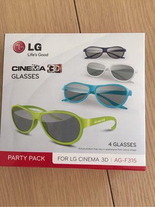 Gafas NUEVAS para TV LG 3D