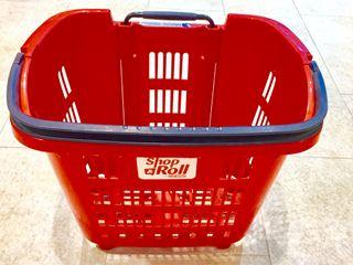 Cesta ruedas 34 litros supermercado nuevos