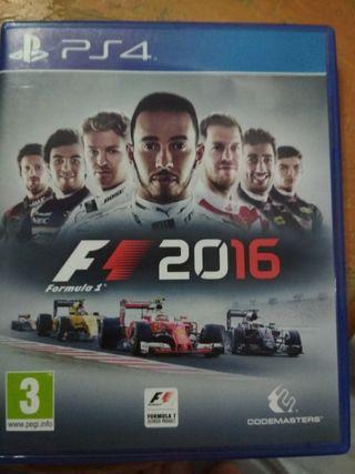 Fórmula 1 2016 PS4