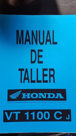 Manual Taller Honda VT-1100-CJ