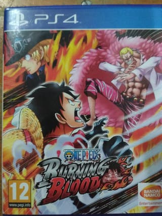 Burning Blood-One Piece PS4