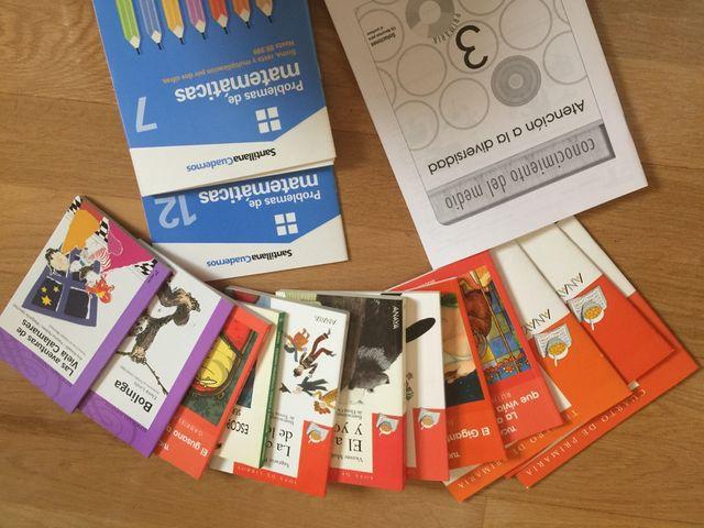 Libros lectura 3 primaria de segunda mano por 15 € en Madrid - wallapop