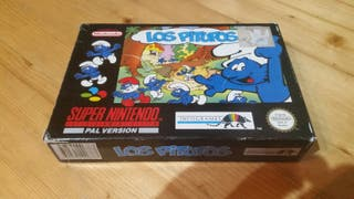 Los Pitufos Super Nintendo Snes The Smurfs