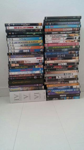 Lote peliculas en DVD