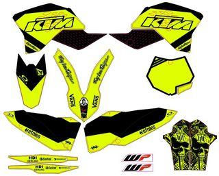 Kit Vinilos KTM