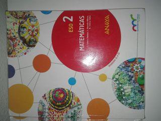 3 libros 2 Eso matemáticas Anaya