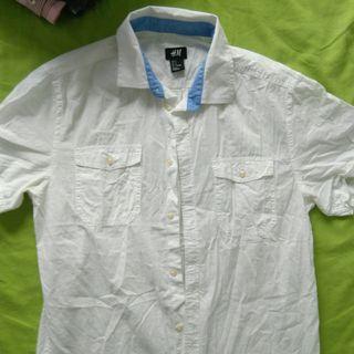 H&M white shirt Size S