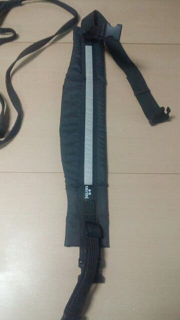 cinturón de canicross con linea de tiro JuliusK9