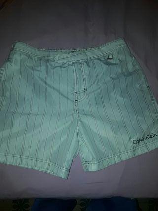 pantalon corto calvin klein