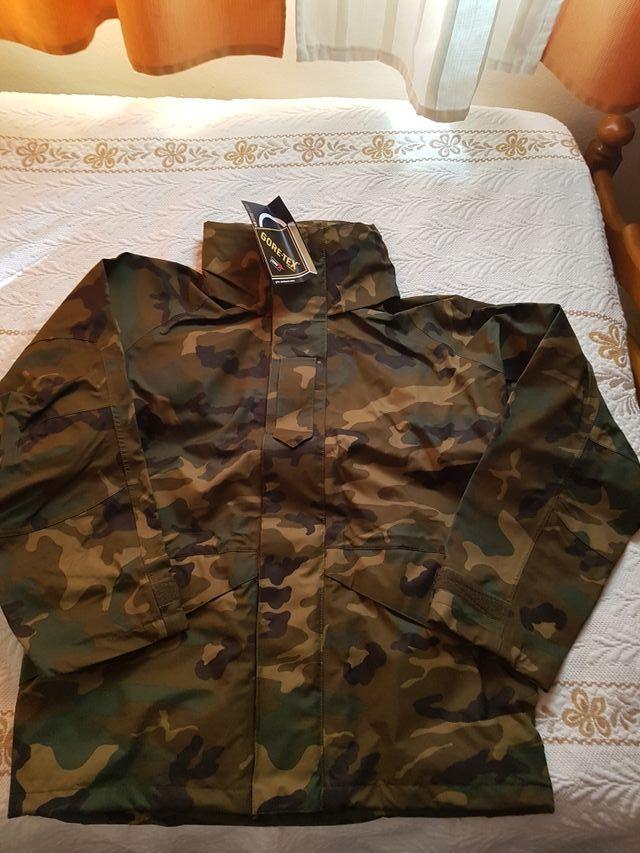 chaqueton militar ejército Nuevo GoreTex