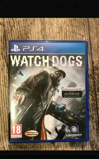 Cambio o Vendo Watch Dogs 1 - Playstation 4 Ps4