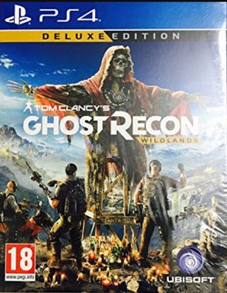 Ghost recon widlans ps4 deluxe edition