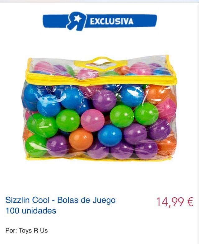 Bolas piscina. Pelotas colores
