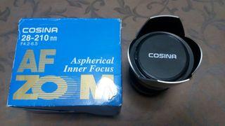 Objetivo Cosina AF 28-210 para Pentax