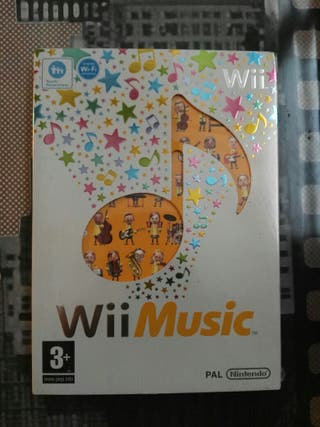 Juego wii music