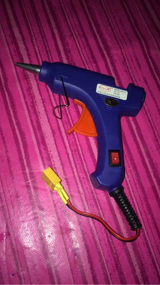 Pistola silicona caliente