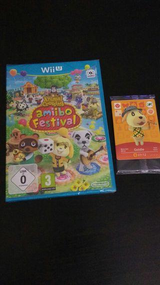 Animal Crossing amiibo festival WiiU