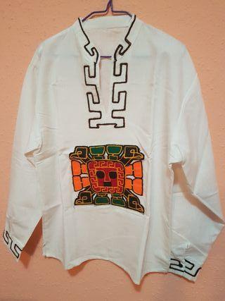 Camisa Incaica Peruana
