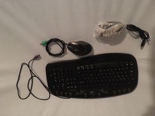 Teclado y raton ordenador
