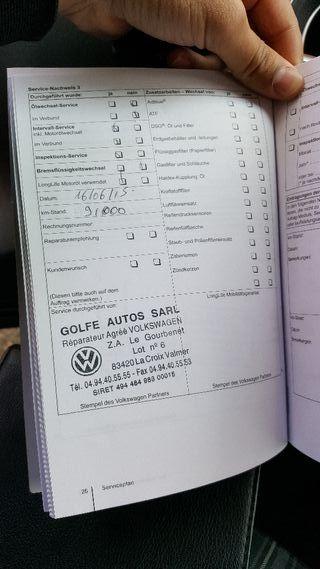 Volkswagen golf vi gtd 2011