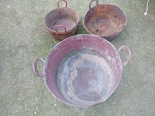 olla de cobre antigua
