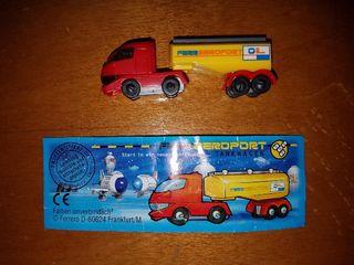figura kinder camión alemán +bpz muy buscada