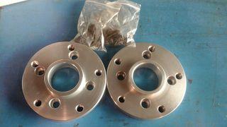 adaptadores 20mm 4x100 vw a 5x130 porsche