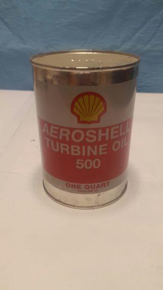 aceite shell 500 para turbinas
