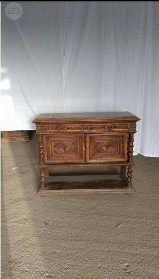 mueble estilo frances con marmol