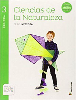 Ciencias Naturaleza 3 Primaria - Santillana