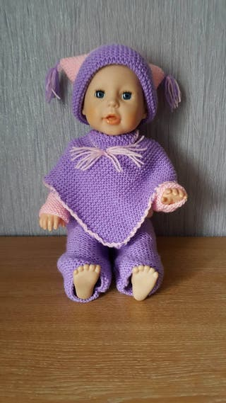 dolls hand knitted clothes